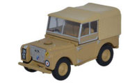 "Oxford Diecast Land Rover Series 1, 80"" - Canvas 34th Light AA Reg, RAF Firdan - 76LAN180008"