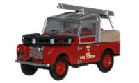 Oxford Diecast -  Land Rovert Series 88 Fire Tender - 76LAN188015