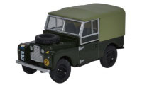 "Oxford Diecast -  Land Rovert Series 1, 88"" Canvas REME - 76LAN188020"