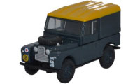 "Oxford Diecast Land Rover Series 1, 88"" - Hard Back RAF - 76LAN188021"