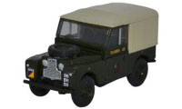 "Oxford Diecast Land Rover Series 1, 88"" - Canvas 6th Training Regiment RCT - 76LAN188022"