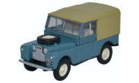 "76LAN188023 - Oxford Diecast Land Rover Series 1, 88"" - Canvas Marine Blue"