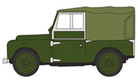 "76LAN188024 - Oxford Diecast Land Rover Series 1, 88"" - Bronze Green"