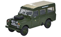 Oxford Diecast Land Rover Series 2 - LWB Station Wagon 44th Home Counties Infantry Division - 76LAN2007