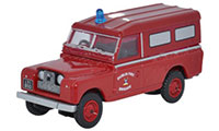 Oxford Diecast Land Rover Series 2 - Dublin Fire Brigade - 76LAN2008