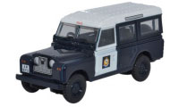 Oxford Diecast Land Rover Series 2 - Station Wagon Hong Kong Police - 76LAN2012
