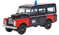 76LAN2021 - Oxford Diecast Land Rover Series 2 LWB Station Wagon - Royal Navy Bomb Disposal