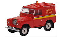 76LR2AS002 - Oxford Diecast Land Rover Series 2A SWB Hard Top Royal Mail (PO Recovery)
