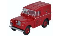 Oxford Diecast British Railways Land Rover Series 2 SWB Hard Back - Royal Mail -  76LR2S001