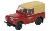 Oxford Diecast British Railways Land Rover Series 2 SWB Canvas - Britis Rail -  76LR2S002