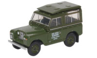 76LR2S003 - Oxford Diecast Land Rover Hard Top Post Office Telephones
