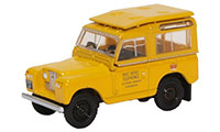 76LR2S004 - Oxford Diecast Land Rover Series 2 SWB Post Office Telephones Yellow