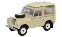 Oxford Diecast Land Rover Series 3 - Station Wagon Limestone - 76LR3S001