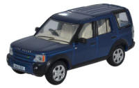 Oxford Diecast Land Rover Discovery 3 - Cairns Blue Metallic - 76LRD006