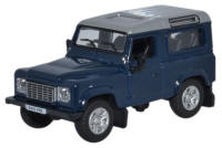 Oxford Diecast Land Rover Defender 90 Station Wagon - Tamar Blue (2013) - 76LRDF002