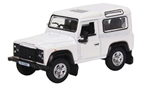 76LRDF012 - Oxford Diecast Land Rover Defender 90 Station Wagon - White