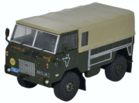 76LRFCG001 - Oxford Diecast Land Rover FC GS 1974 Trans Sahara Expedition