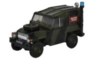 76LRL002 - Oxford Diecast Land Rover 1/2 Ton Lightweight - Military Polic