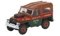 Oxford Diecast Land Rover Land Rover Lightweight Hard Top Fred Dibnah - 76LRL006