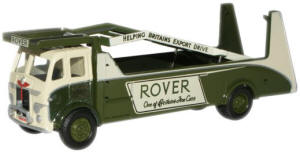 New Modellers Shop - Oxford Diecast - Leyland Car Transporter Rover - 76LTR001