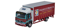 Oxford Diecast Man L2000 Curtainside - Pollock - 76MAN001