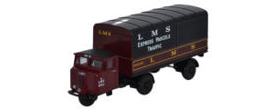 Oxford Diecast - LMS Mechanical Horse Van - 76MH019