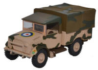 Oxford Diecast Bedford MWD 10th Armoured Div.,41 RTR Tunisia 1943 - 76MWD006