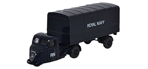 Oxford Diecast Scammell Scarab Van Trailer - Royal Navy - 76RAB010