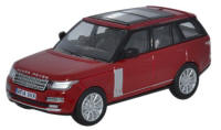 Oxford Diecast Range Rover - Vogue Firenze Red - 76RAN003