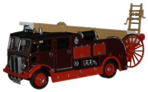 Oxford Diecast Newcastle and Gate Fire AEC Regent 3 Fire Engine - 76REG002