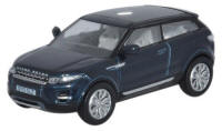 Oxford Diecast Range Rover Evoque Baltic Blue - 76RR003