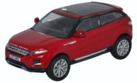 Oxford Diecast Range Rover Evoque - Firenze Red - 76RR005