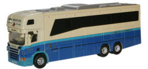 Oxford Diecast - Scania Horsebox - Eric Gillie - 76SCA01HB