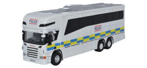 Oxford Diecast - Oxford Diecast Scania Horsebox - Police - 76SCA02HB