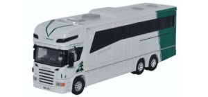 Oxford Diecast - Scania Horsebox - A W Jenkinson - 76SCA04HB