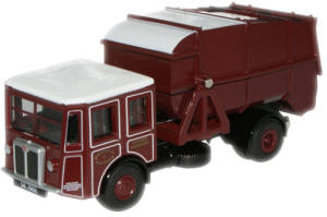New Modellers Shop - Oxford Diecast West Lothian County Council Shelvoke & Drewry Dustcart - 76SD001