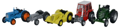 Oxford Diecast 5 Piece Tractor Set - 76SET33