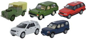 Oxford Diecast 5 Piece Classic Rover Set - 76SET49