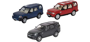 76SET71 - Oxford Diecast Land Rover Discovery Set - 3 Piece Set