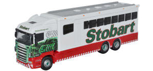 Oxford Diecast - Scania Horsebox - Eddie Stobart Highline - 76SHL02HB