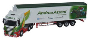 Oxford Diecast Scania Highline Walking Floor - Stobart Jockeys - Andrea Atzeni - 76SHL11WF