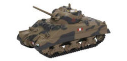 76SM002 - Oxford Diecast Sherman Tank Mk III Royal Scots Greys Italy 1943
