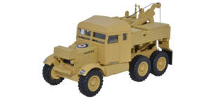 Oxford Diecast Scammell Pioneer Recovery Vehicale - 1st Armoured Divison - 76SP007