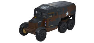 Oxford Diecast Scammell Pioneer Artillery Tractor 51 Heavy Regiment C Troop , NW Europe - 76SP011