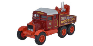 76SP012 - Oxford Diecast Scammell Pioneer Whiteleggs with Tow Hook