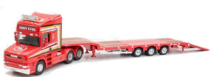 Oxford Diecast - Scania T Cab - Low Loader - Sandy Kydd - 76TCAB008