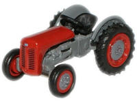 Oxford Diecast Ferguson TEA Tractor - Red - 76TEA002