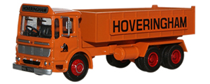 Oxford Diecast AEC Ergomatic 6 Wheel Tipper - Hoveringham - 76TIP001