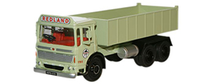 Oxford Diecast AEC Ergomatic 6 Wheel Tipper - Redland - 76TIP002