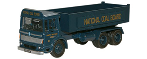 Oxford Diecast AEC Ergomatic 6 Wheel Tipper - National Coal Board - 76TIP003